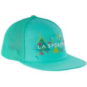 La Sportiva Vertriangle Trucker Hat Dam emerald